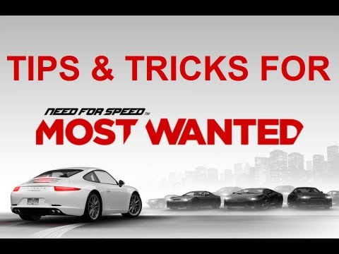 NFSMW - Get NFS Points Fast + Unlock Most Wanted Cars (Tips & Tricks)