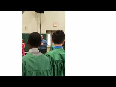 CJ BANKS C/O 2023 WINSLOW TOWNSHIP MIDDLE SCHOOL GRADUATION
