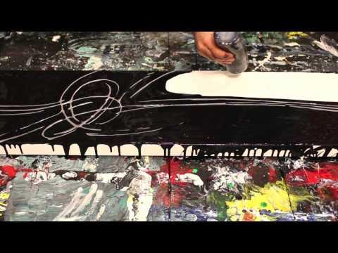 Emotion 2213 - Unfiltered Studio Cut - Fluid Acrylic Art - Modern Art by Eric Siebenthal