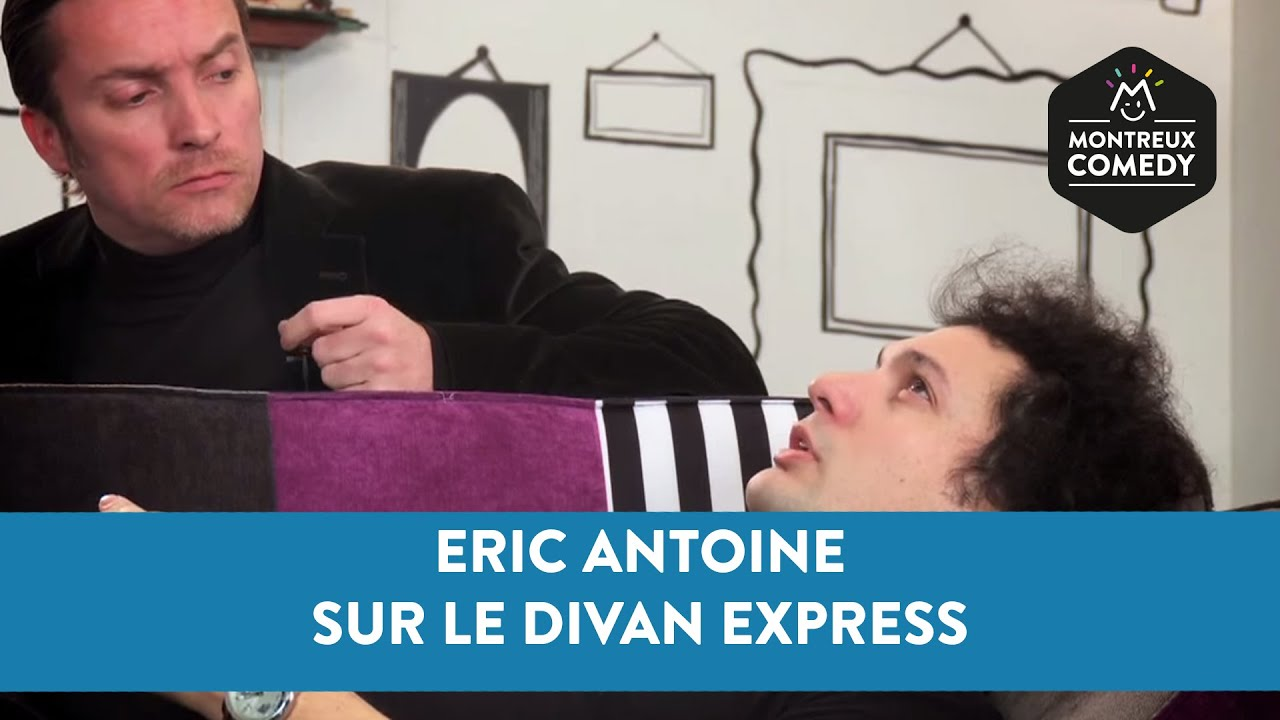 Eric Antoine sur le Divan Express