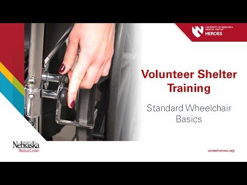 Volunteer Shelter Training: Standard Wheelchair Basics