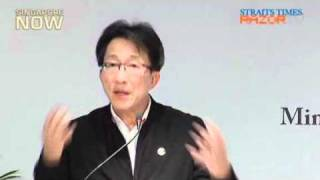 Lim Swee Say on the labour movement in singapore (Mandarin) Part 2/2