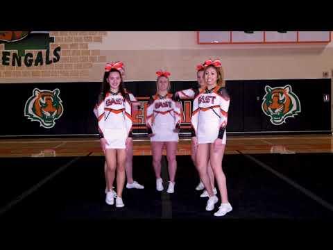 Plainfield East High School Varsity Cheer Hype Video (2019)