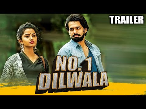 No. 1 Dilwala (Vunnadhi Okate Zindagi) Official Hindi Dubbed Trailer 2   Ram Pothineni, Lavanya