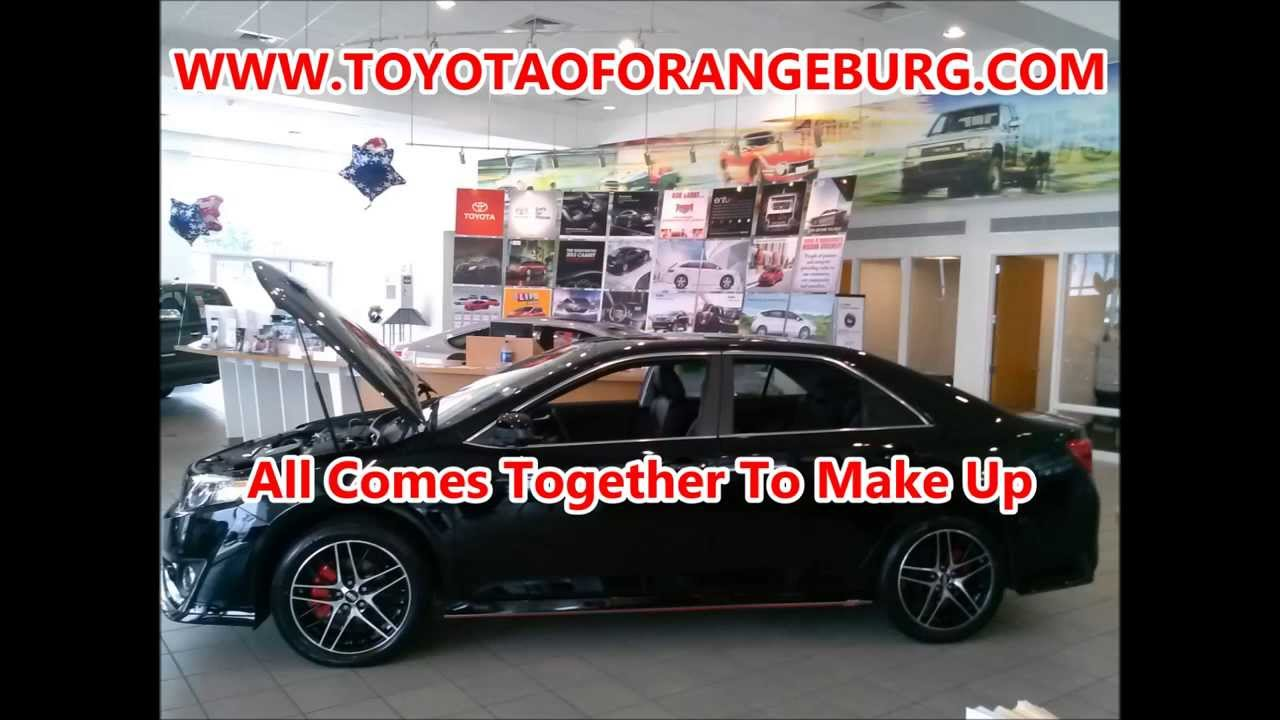 2013 toyota camry se with xsp package from toyota of orangeburg in sc [ 1280 x 720 Pixel ]