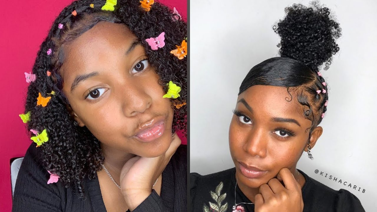 Rubber Band Method Rubberband Hairstyles On Natural Hair