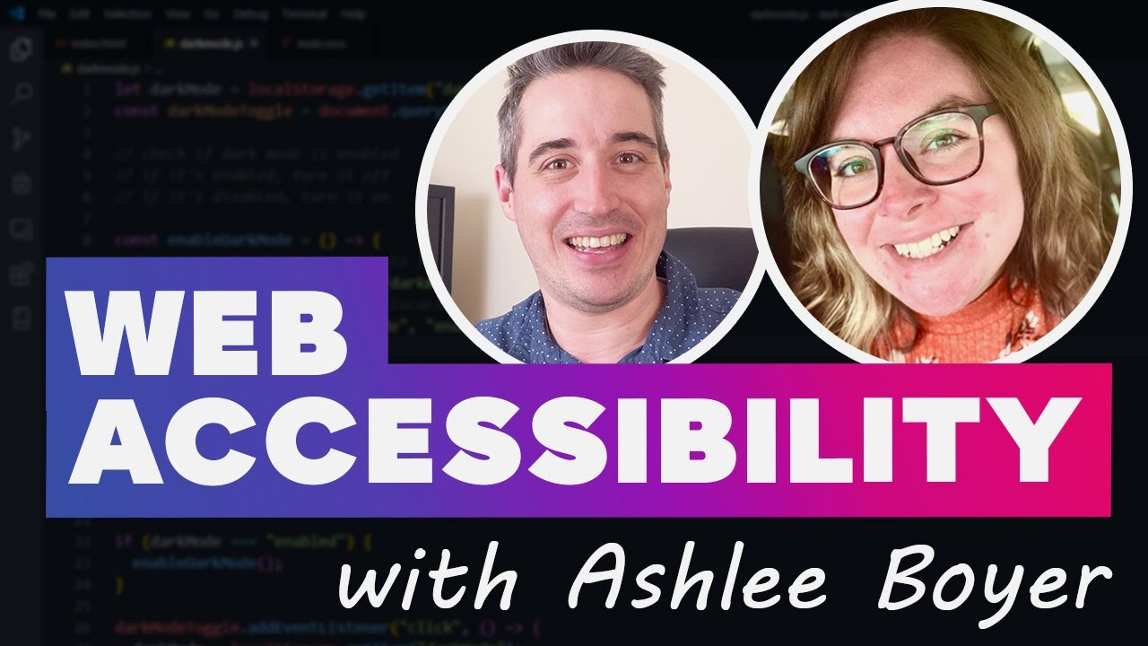 Getting Started with Web Accessibility With Ashlee Boyer