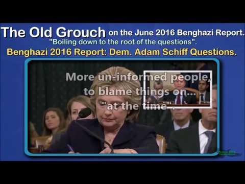 Benghazi 2016 Report: Dem. Adam Schiff Questions. OGB 27 of 41.