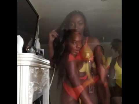 Girls dancing wild sexy