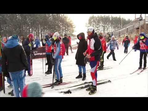 Юрга стала центром проведения областных соревнований по лыжным гонкам