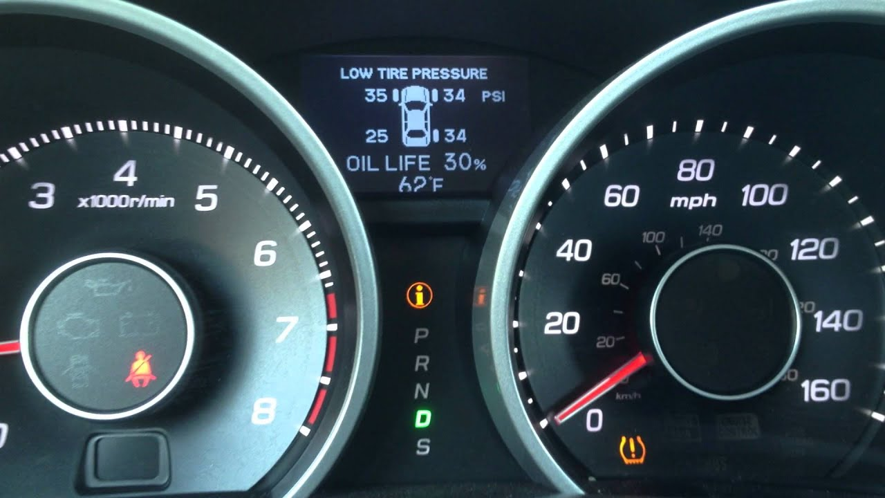 acura tire pressure monitoring system youtube