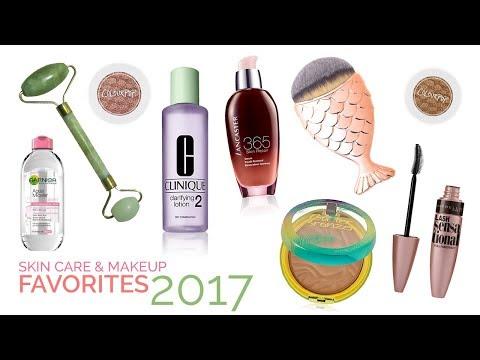 SKIN CARE & MAKEUP FAVORITES 2017 | The Beauty Hunter