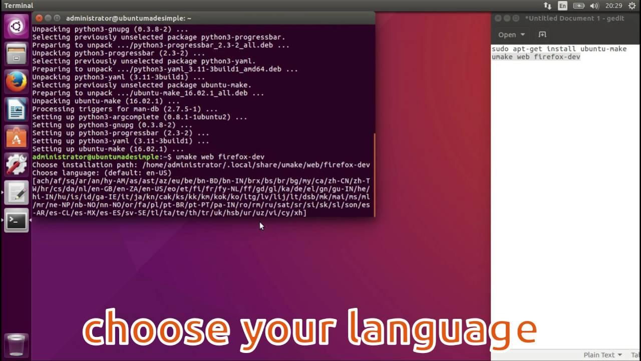 How To Install Firefox-Dev in Ubuntu 16 04