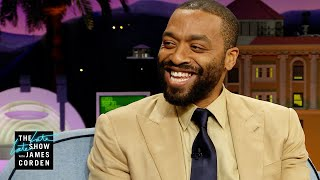 Chiwetel Ejiofor Works Hard to Combat His Hoarding Ways