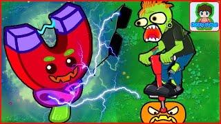 Игра Растения против зомби от Фаника Plants vs zombies 10