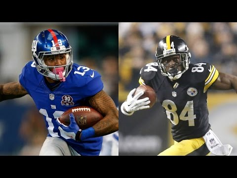 WHO CAN RUN A 99YD TD FIRST?!? ODELL BECKHAM JR OR ANTONIO BROWN!? MADDEN 16 CHALLENGE!!