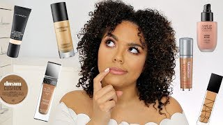 Best Foundations for Textured Skin (acne, cystic bumps, pores)