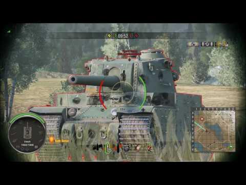 Bull's Type 5 Weak Spot Guide (World Of Tanks Console)