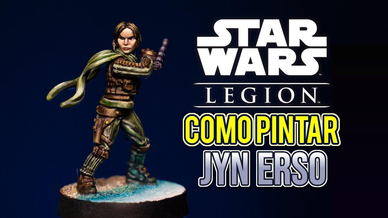 Como pintar Jyn Erso - Star Wars Legion
