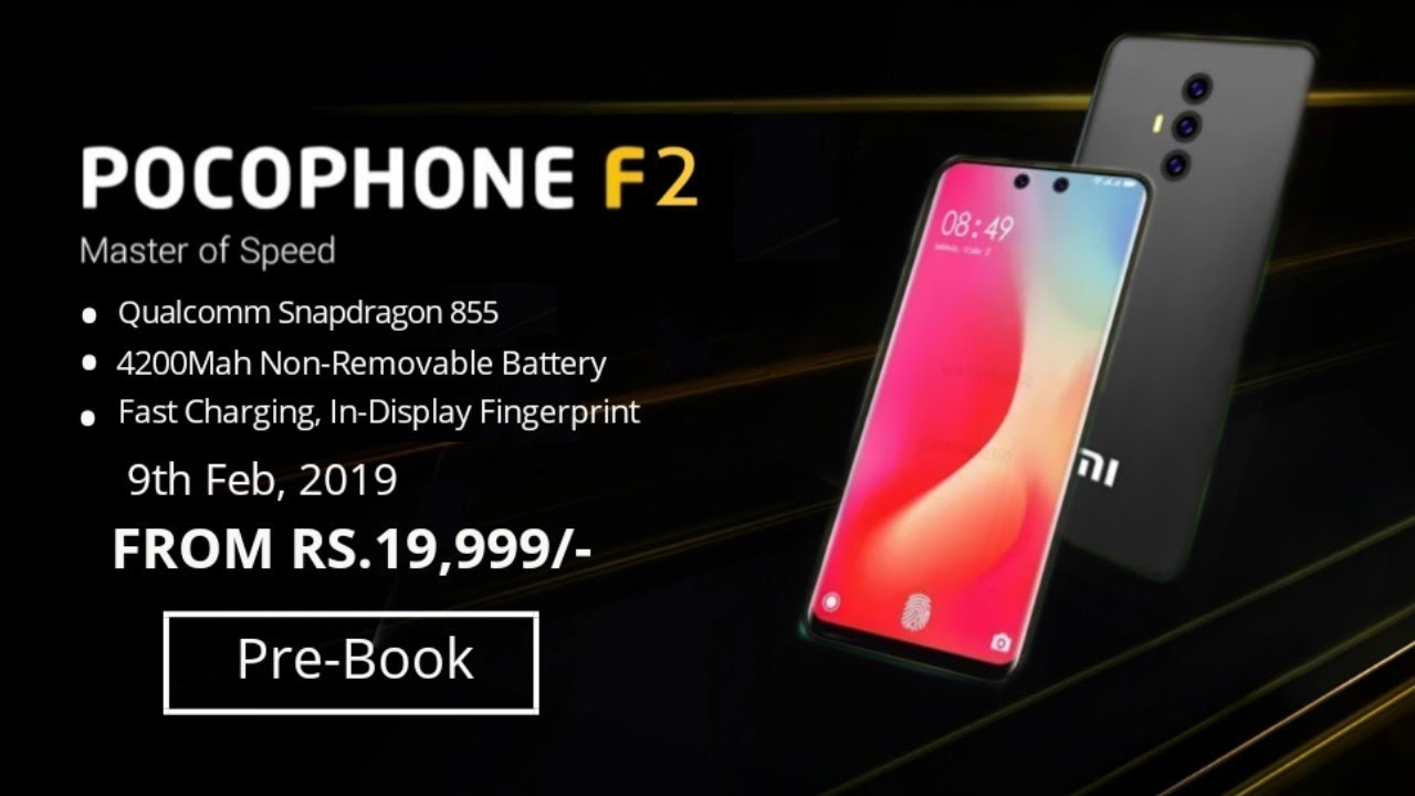 Xiaomi Pocophone F2 Offical Look Design Price Specs Release Date Youtube