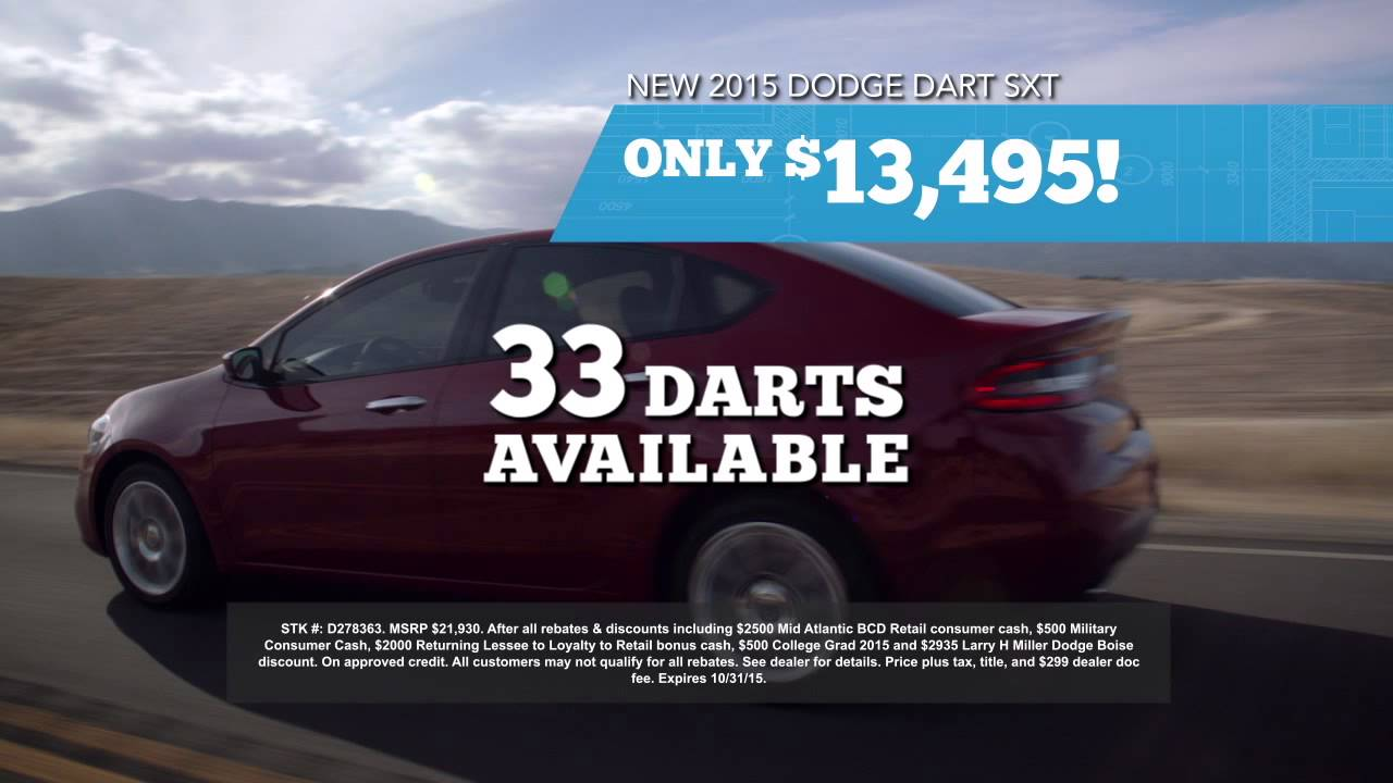 Larry Miller Dodge Boise >> Deals On Dodge And Chrysler Vehicles In Boise Are Great