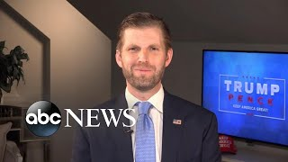 Biden 'didn't want to stand on the stage with my father': Eric Trump on debate | ABC News