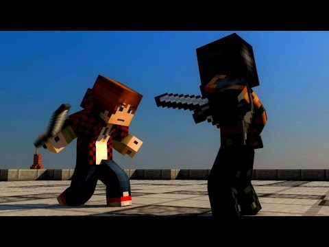 BajanCanadian Fight ( Minecraft Animation )