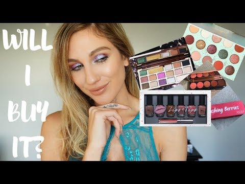 WILL I BUY IT? │ COLOURPOP, TOO FACED, DOSE OF COLORS & KL POLISH