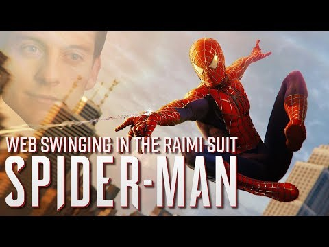 Spider-Man PS4 - Epic Web Swinging in the Raimi Suit (Danny Elfman Score)
