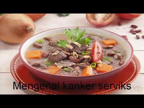 Cara mengobati kanker serviks dengan sup kacang merah