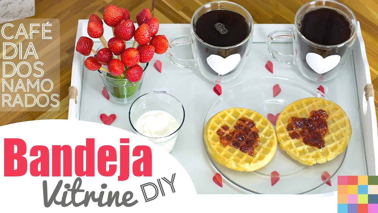 Fabuloso Ideias para o Dia dos Namorados :: Café da manhã | #diydoamor  TZ95