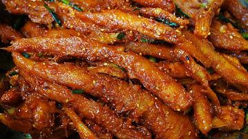 더덕무침 만드는법 향긋한 더덕고추장무침 (더덕 손질법, 쓴맛 제거, 껍질 쉽게 까는법, 양념비율)