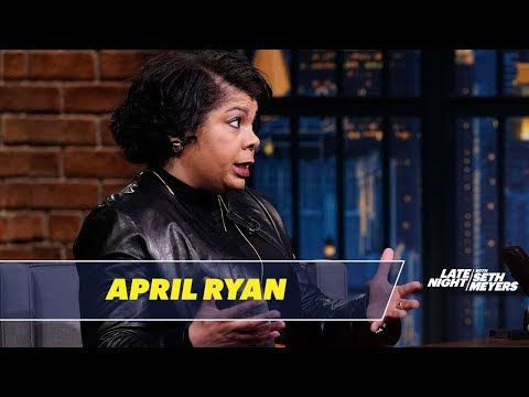 April Ryan Has a Strained Relationship with Press Secretary Sanders