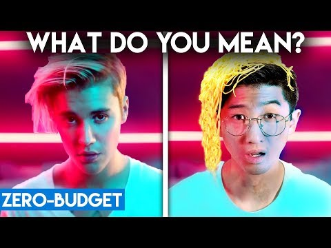 JUSTIN BIEBER WITH ZERO BUDGET! (What Do You Mean PARODY)