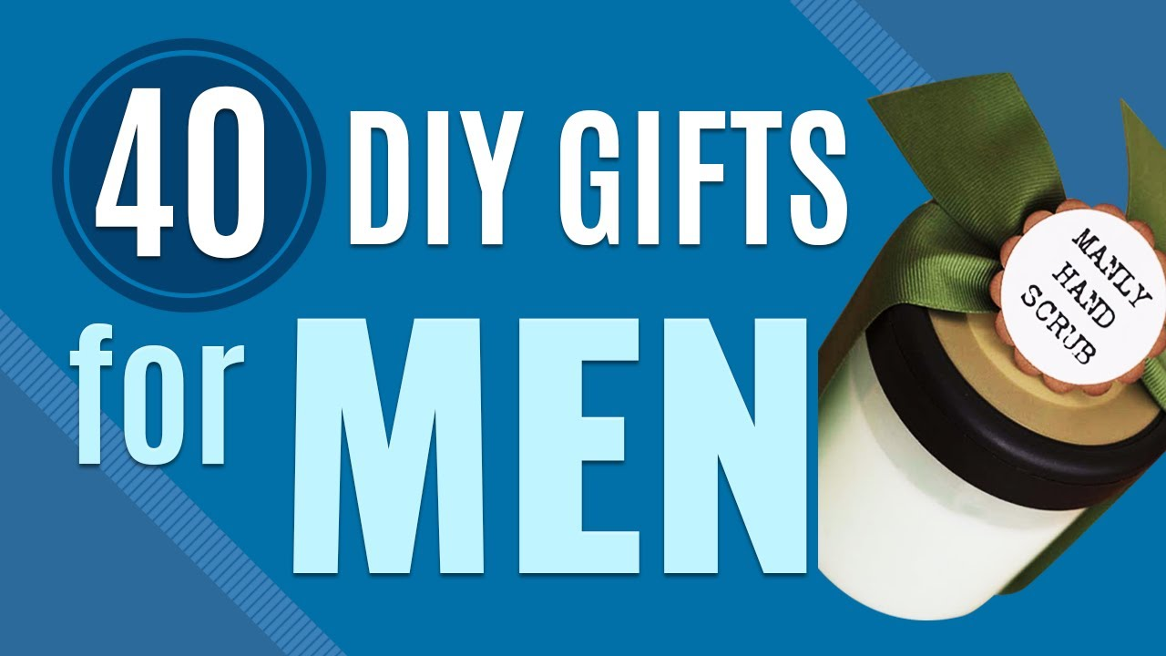 40 DIY Gifts for Men | Creative Gift Ideas to Make for Guys