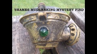 Mudlarking the River Thames London - A Mystery Object