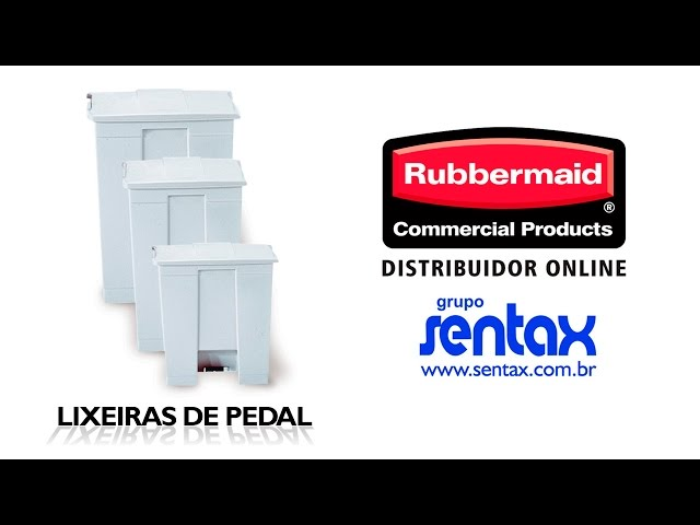 Lixeiras de Pedal - Rubbermaid