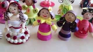 My Paper Quilling Doll creations