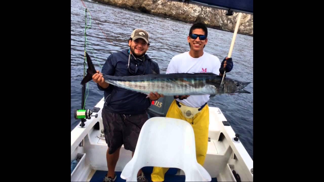 San thomas fishing team wahoo fishing manta ecuador youtube for Fishing in ecuador
