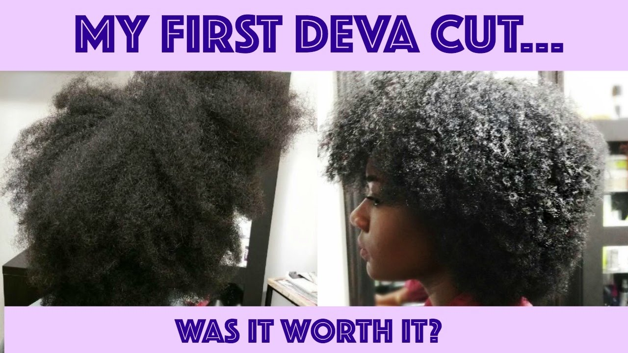 My First Deva Cut Was It Worth It Type 4 Natural Hair Youtube
