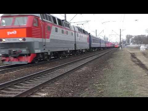 Последний рейс поезда № 073Я Москва - Кривой Рог с Курского вокзала.