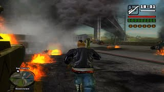 GTA SAnandreas RAGE ON SCPD  REAL ENB HD TEXTURES MAX SETS PC GAMEPLAY
