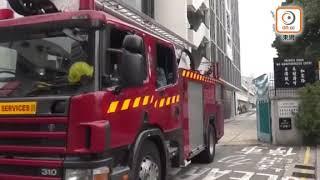 英皇佐治五世學校失火 2千師生疏散考試受阻