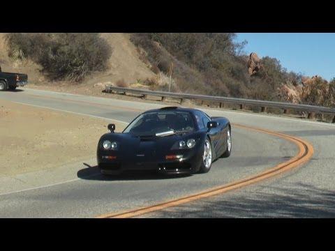 Jay Leno's 8 Million $$ McLaren on Mulholland Hwy