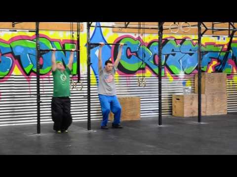 Ludington Crossfit Adaptive Athlete Class