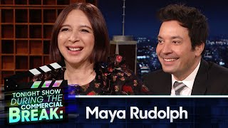 Maya Rudolph and Jimmy Scat with The Roots During Commercial Break | The Tonight Show