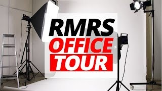RMRS Office Tour!   Behind The Scenes Of Real Men Real Style YouTube Channel