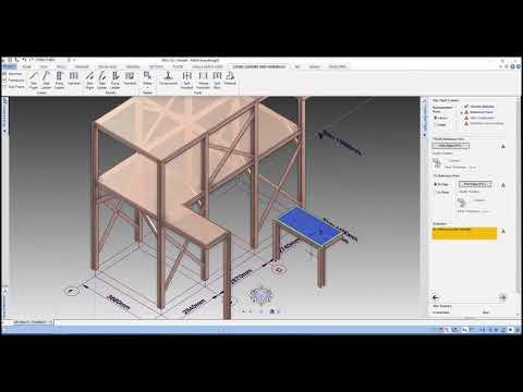 AVEVA E3D  Modeling Steel Platform