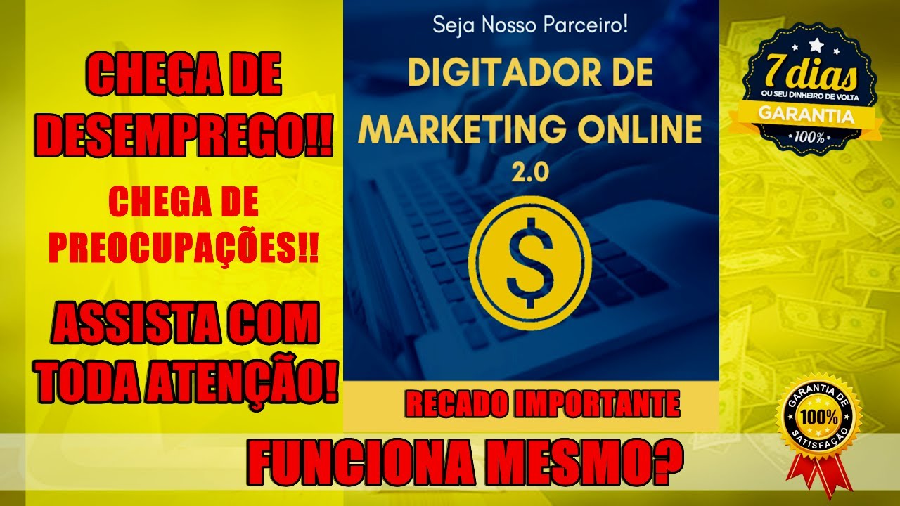 digitador de marketing online existe