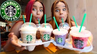 2018 STARBUCKS SECRET MENU DRINKS (TASTE TEST)